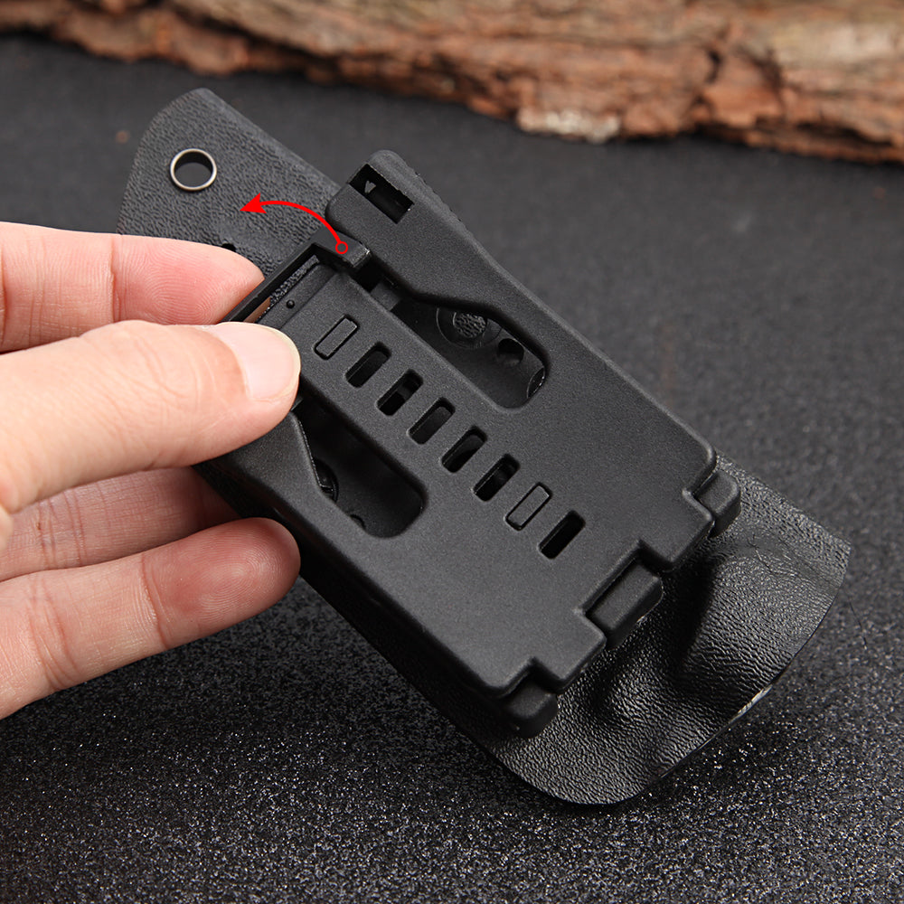 Full Tang Newest Tactical Knife Survival Camping Outdoor Tools Collection Hunting Knives With Imported K sheath as a gife
