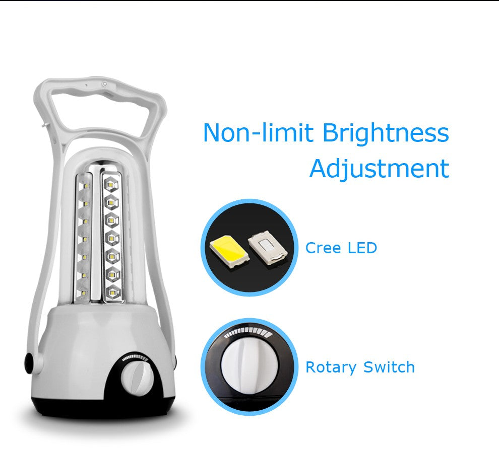 Electronic Rechargeable LED Camping Lantern