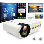 Mini Wired WiFi Home Theater Projector