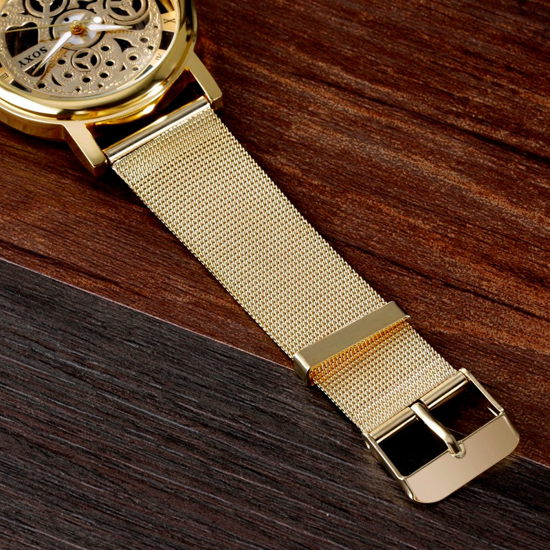 Men's Luxury Skeletal Business Wrist Watch