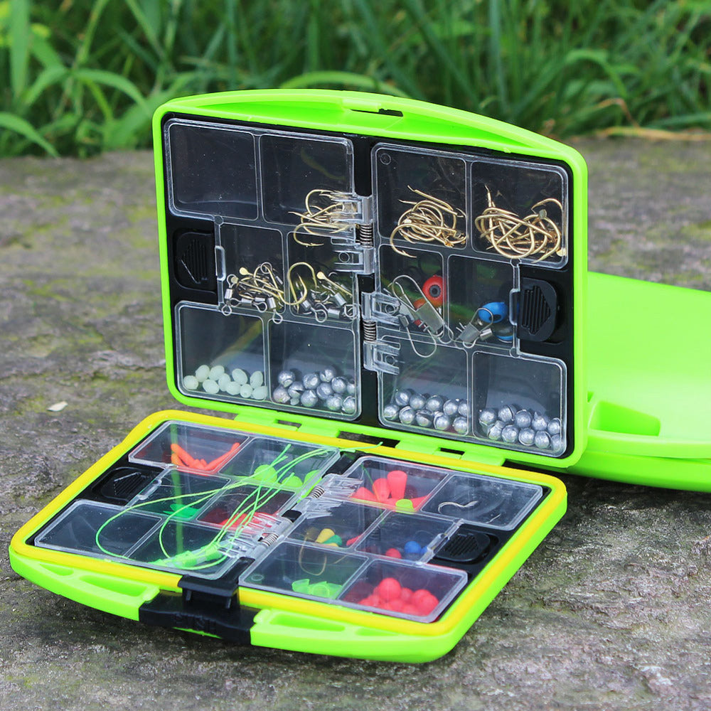 Fishing Tackle Box Fully Loaded with 24 Compartments
