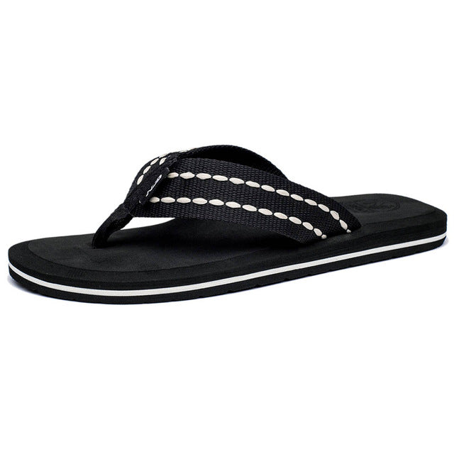 22a656f88ad0dc Summer Men Flip Flops High Quality Comfortable Beach Sandals Shoes for