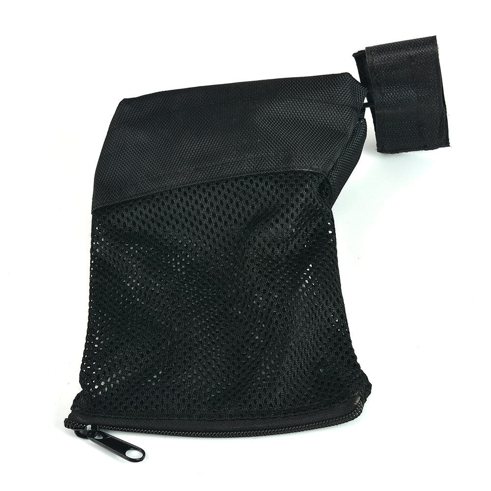 Ohhunt Tactical AR 15 Ammo Brass Shell Catcher Zippered Closure Quick Unload Hunting Accessories Nylon Mesh Black