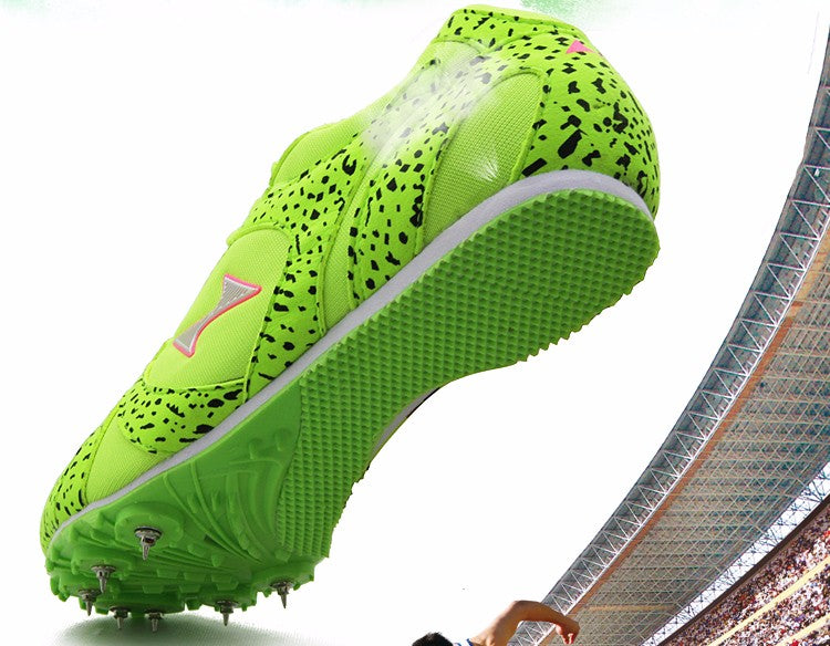 Health track and field for men spike nail shoes Student training sprint athletics Track & Field Shoes sneakers size 33-45