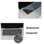 SR Waterproof General Laptop Keyboard Skin Film Cover Universal Silicone 14 inch Keyboard Protective Film