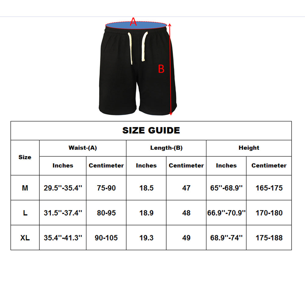 MUSCLE ALIVE Men's Casual Shorts Fitness Gyms Shorts Workout Bodybuilding Shorts with Pockets and Drawstring Athlete Sportswear