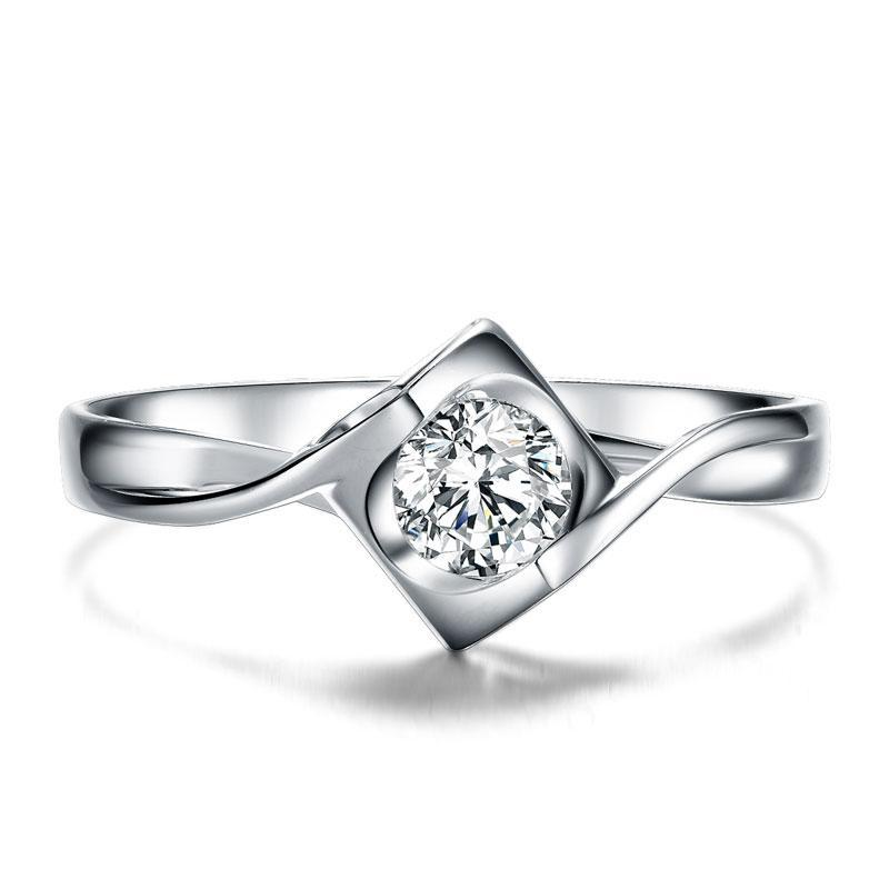 Women's Natural diamond Lover Couple Anniversary Ring