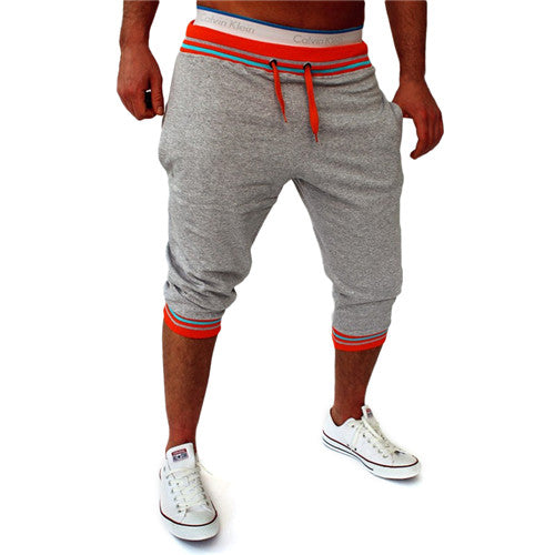 Mens Harem Capri Baggy Bermuda Masculina mma Shorts Cotton Blends Fitness Sweat Shorts Male Bodybuilding jogger Shorts M-2XL