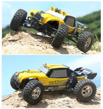 "Toys RC Car HBX 12891 1/12 2.4G 4WD Waterproof Hydraulic Damper RC Desert Buggy Truck with LED Ligh ""VS"" WL A959"