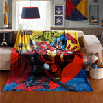Avengers Fleece Travel Blanket