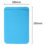 Blue Soft Sleeve Case for Tablet PC Anti-dirty Anti-scratch Tablets Cover Pouch for 12'' Digital eWriter LCD Notepad Writing Pad