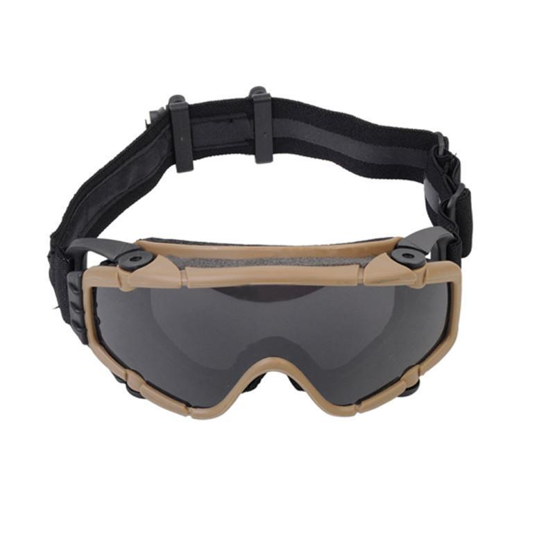 FMA Tactical Goggles With Fan Glasses Airsoft Anti-fog Durable Nylon Protector For Paintball Outdoor Hunting Gear BK/DE TB886