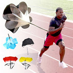 "Adjustable 56"" Wind Resistance Speed Training Drill Parachute"