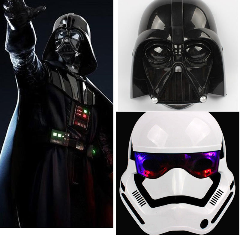 Star Wars Mask The Darth Vader & Stormtrooper Mask With LED Light