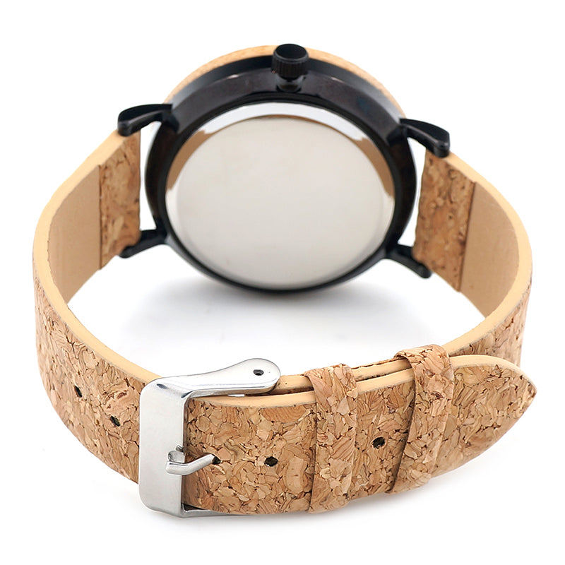 BOBO BIRD Bamboo Watch Men and Women Luxury TOP Brand Cork Band Wooden Wrist Watches