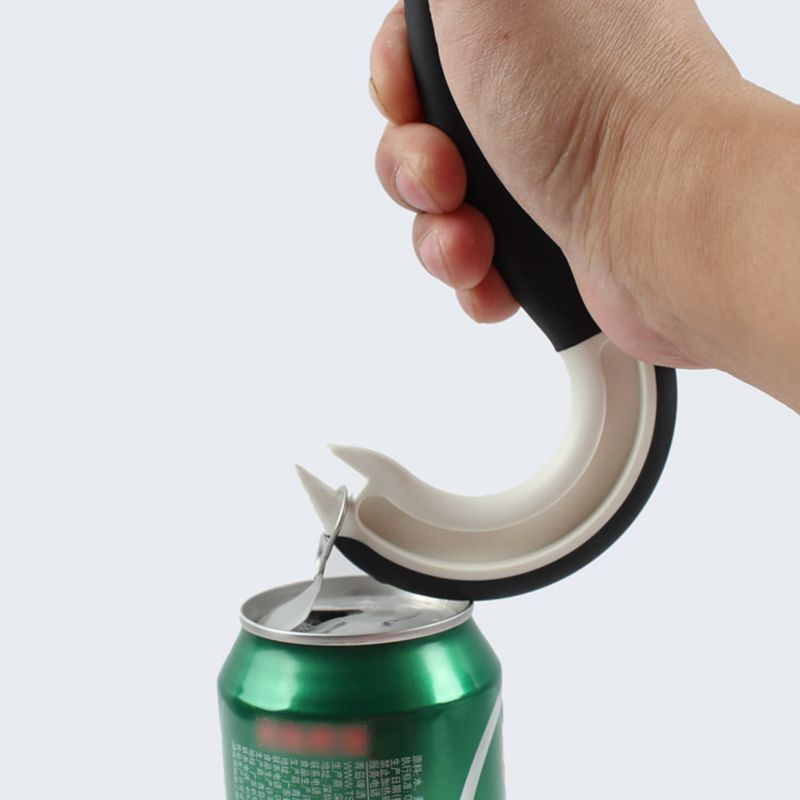 Pull Ring Can Opener with Non-Slip Grip