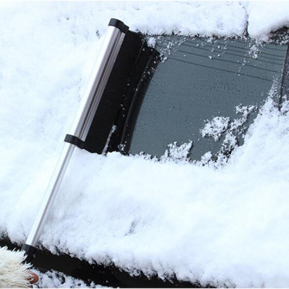 Telescopic Extendable Snow Brush Ice Scraper