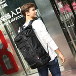 "Large Capacity 17"" Designer Travel Backpack Duffle Bag"