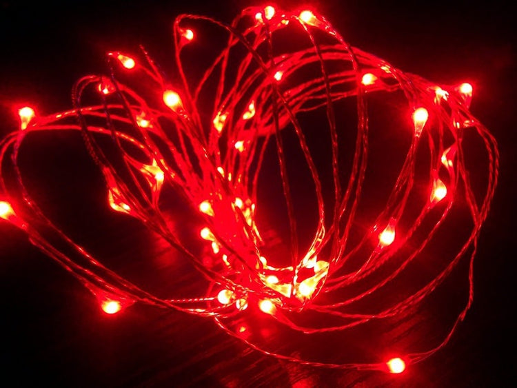 LED Copper Wire String Fairy Light Decoration