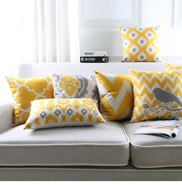 Decorative Nordic Abstract Cotton Cushion Pillows