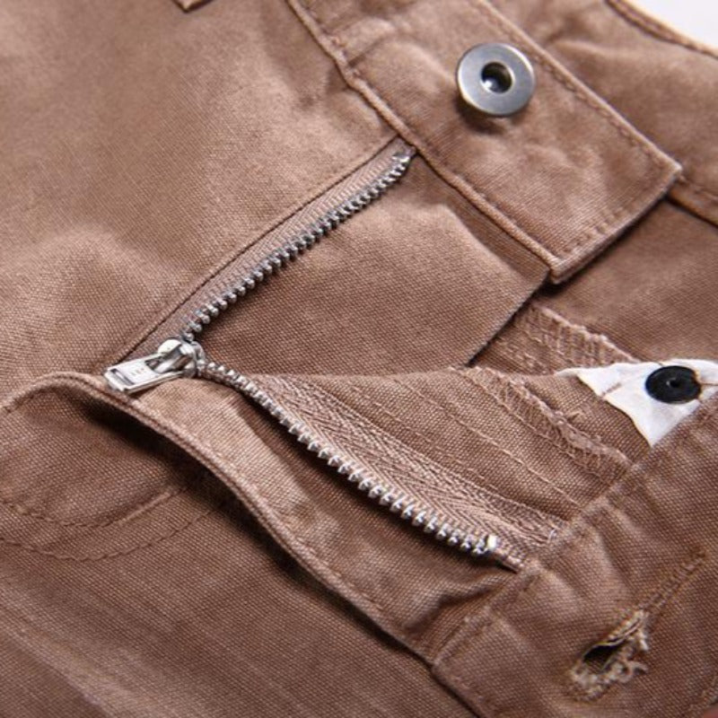 Boys' Solid Casual Khaki Pants