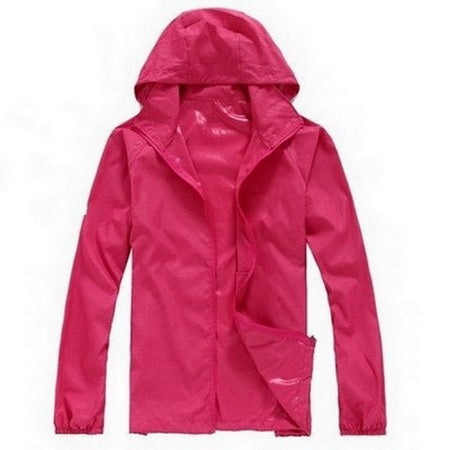 Lovers Sun Protection Skin Summer Jacket Women Men Spring Fashion Female Coats Women's Foldable Hooded Jackets,AM034