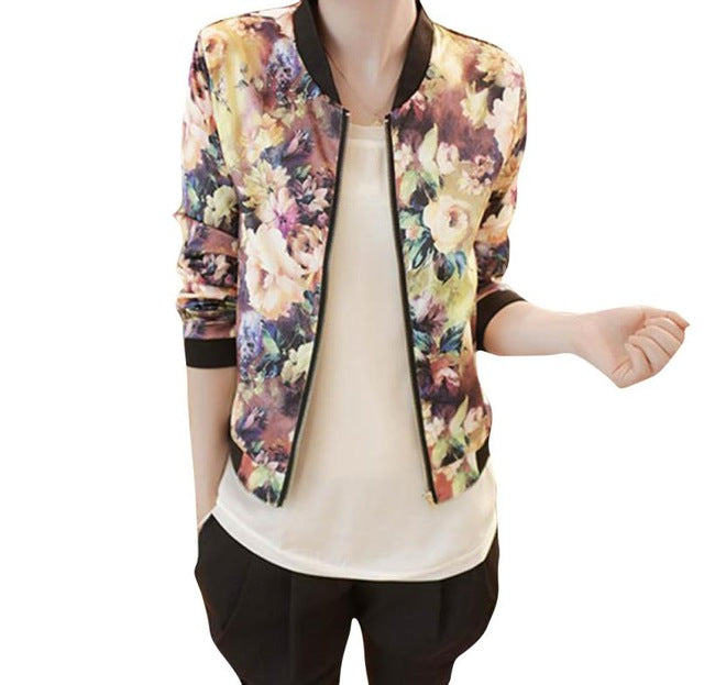 Women's Global Fashion Short Tops Jackets