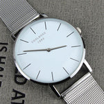 New Famous Brand Rose gold Casual Quartz Watch Women Watches Metal Mesh Stainless Steel Dress Relogio Feminino Clock