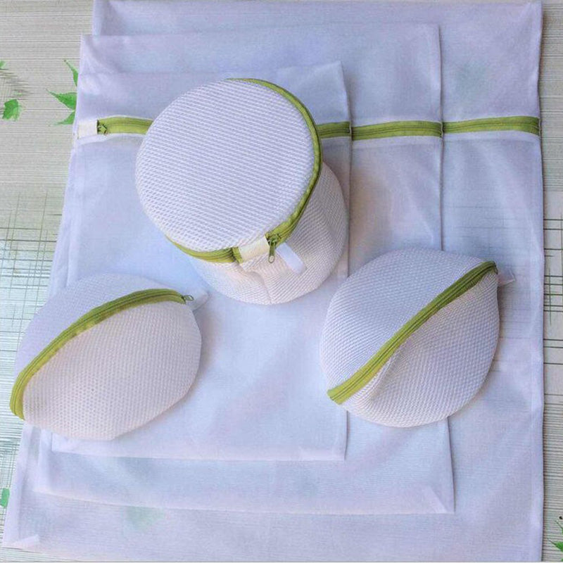 Enipate 6pcs/sets Laundry Bag Drawstring Bra Underwear Products Laundry Bags Useful Mesh Net Bra Wash Bag zipper Laundry Bag