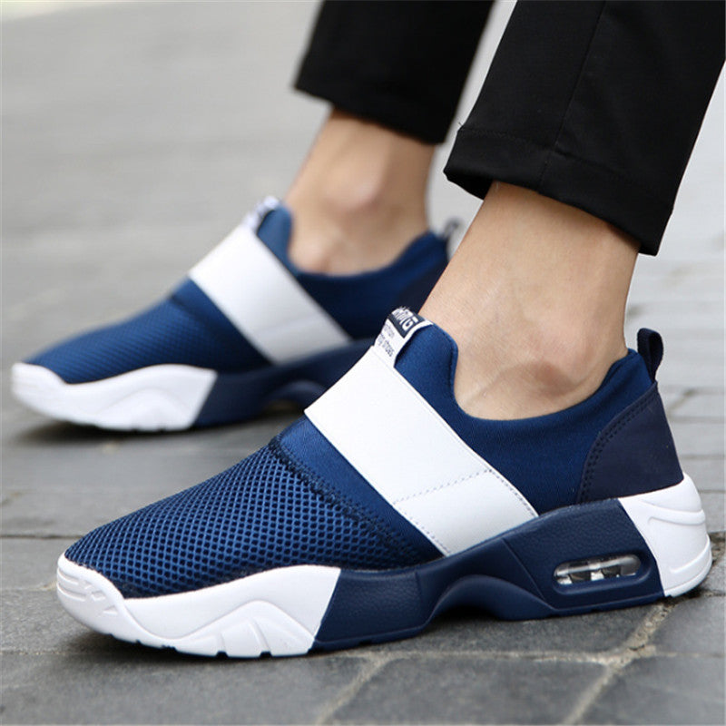 Brand shoes Men canvas Flat Casual shoes Unisex Net cloth men Air cushion damping zapatos mujer chaussure homme tenis feminino