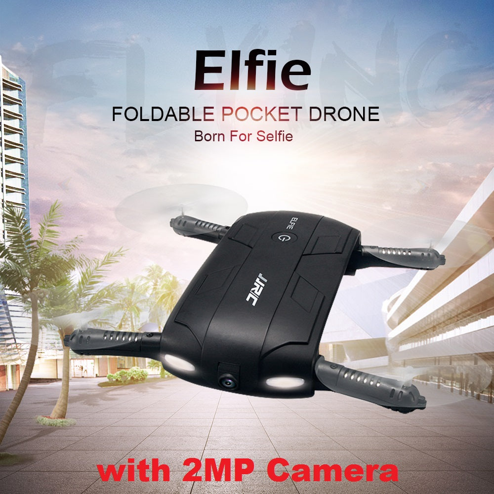 6-Axis 2.4Ghz Foldable RC Quadcopter with Self-Timer HD Camcorder