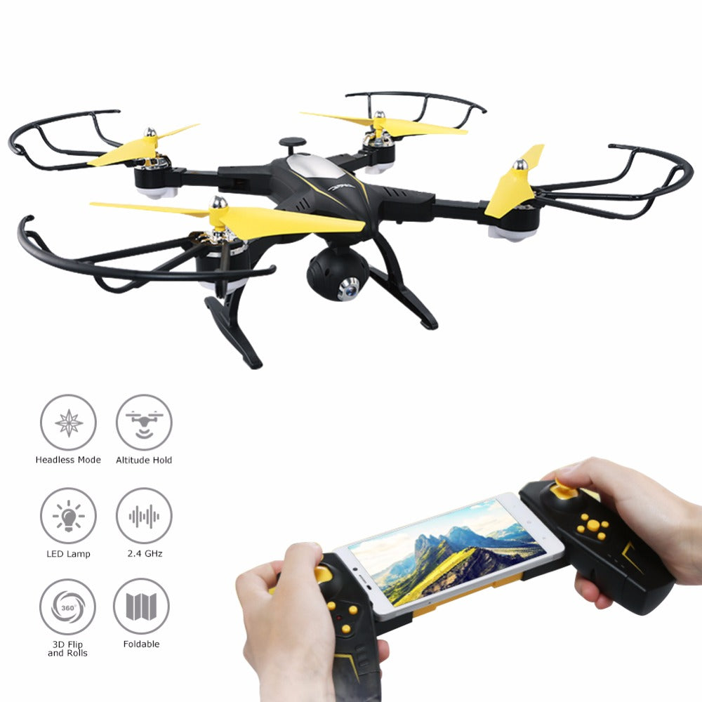 JJRC H39WH H39 Foldable RC Quadcopter with 720P WIFI HD Camera Altitude Hold Headless Mode 3D Flip APP Control RC Drone