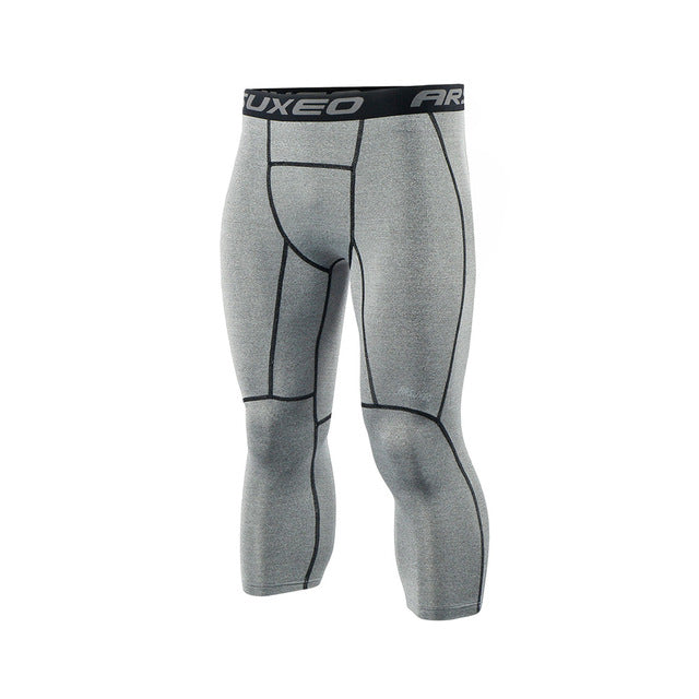 Men's Sport Gym Fitness Compression Leggings