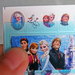 Snow Queen Elsa Anna Nail Decal Disny Water Transfer Nail Sticker Cartoon Nails Decor Water Nail Seal Gift Packing