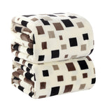 Home textile square flannel blanket