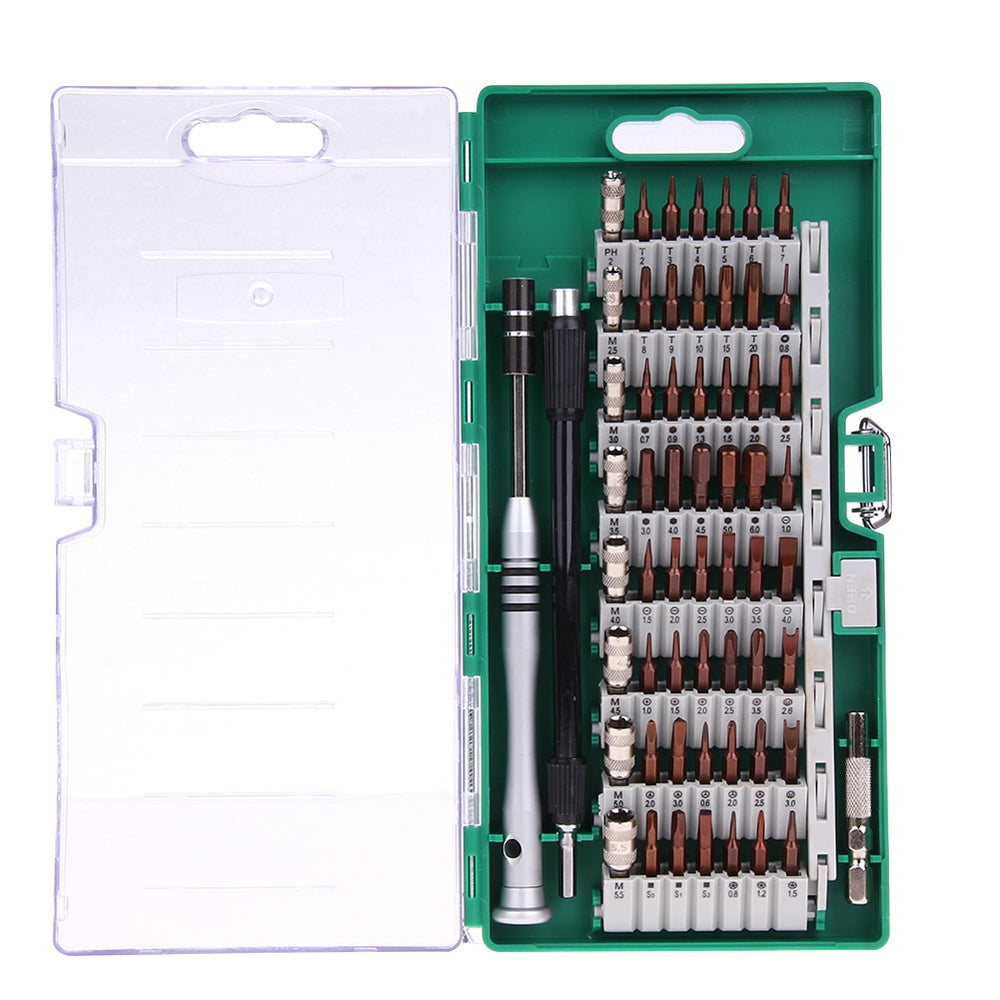 60-in-1 Magnetic Screwdriver Tool Kit with Carry Case