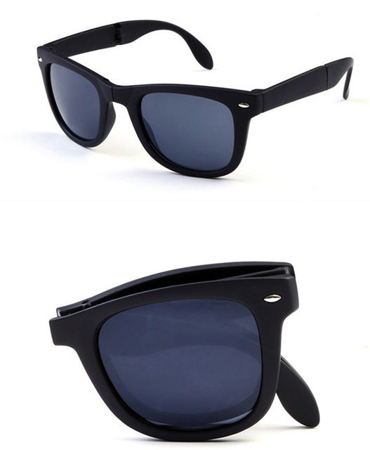 Original Foldable Polycarbonate Sunglasses with Case