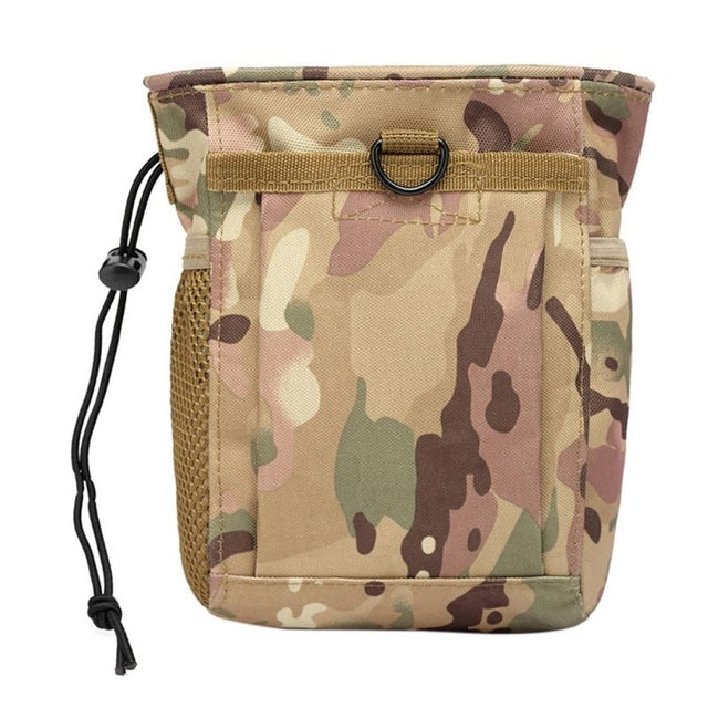 Military Protable Molle Utility Hunting Rifle Pouch Ammo Pouch Tactical Gun Magazine Dump Drop Reloader Hot Sell Pouch Bag