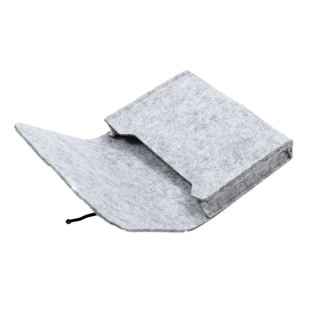 Soft Sleeve Bag Case For Macbook Air Pro Retina 11 inch Laptop Anti-scratch Cover For Mac book- Light Gray with small bag