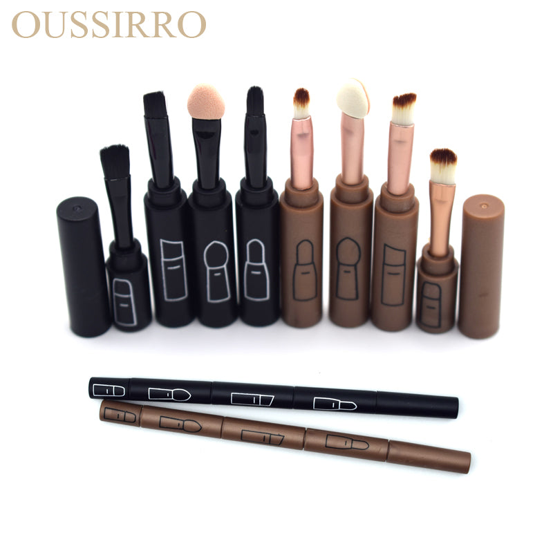 Professional 4 Pcs Beauty Multi Founction Cosmetic Makeup Brushes Set Makeup Tools For Women Make up Accessories
