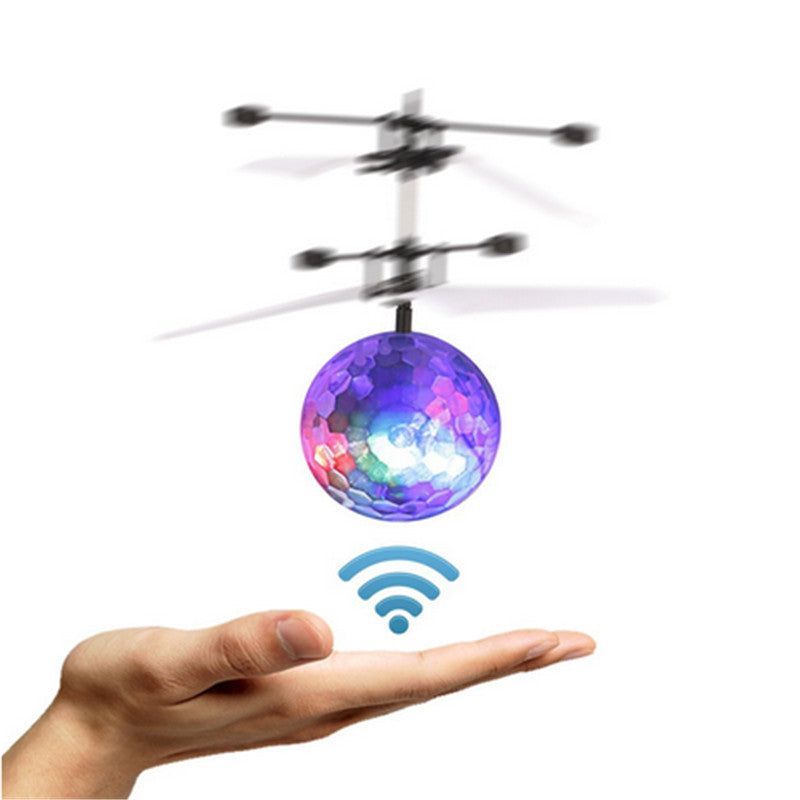 Colorful Sensory Disco LED Flying Drone