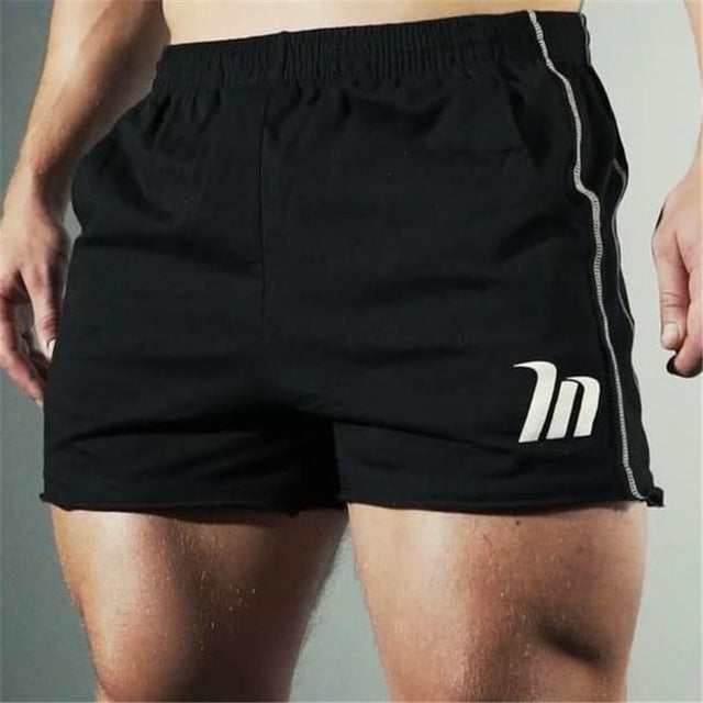 Men's Slim Fit High Knee Fitness Shorts