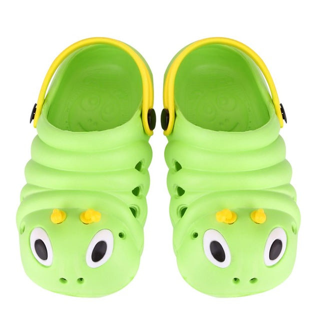 Summer Shoes Caterpillar Anmial Cartoon Style Children Baby Shoes Child Slipper Breathable Kids Boys Girls Sandals Shoes