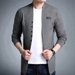 Men's Slim Fit Cashmere Cotton Blazer