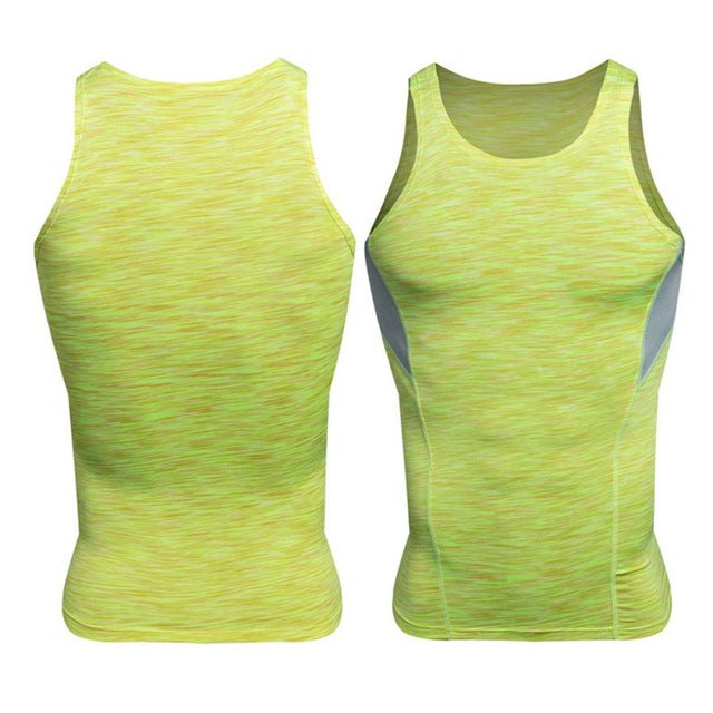 Men Fitness Summer Quick Dry Tank Tops Solid Cool Vest Sleeveless Tops Plus Size