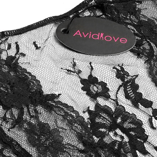 Avidlove Sexy Lingerie Robe Dress Women Lingerie Sexy Erotic Plus Size Nightwear Kimono Bathrobe Dressing Gown