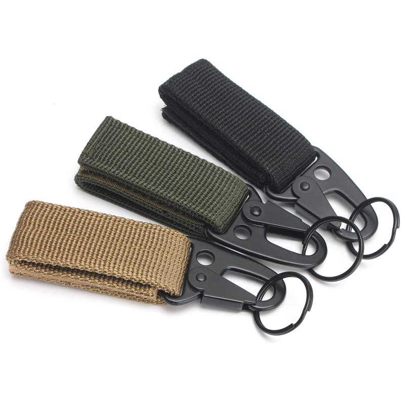 High Strength Nylon Carabiner Key Hook Buckle