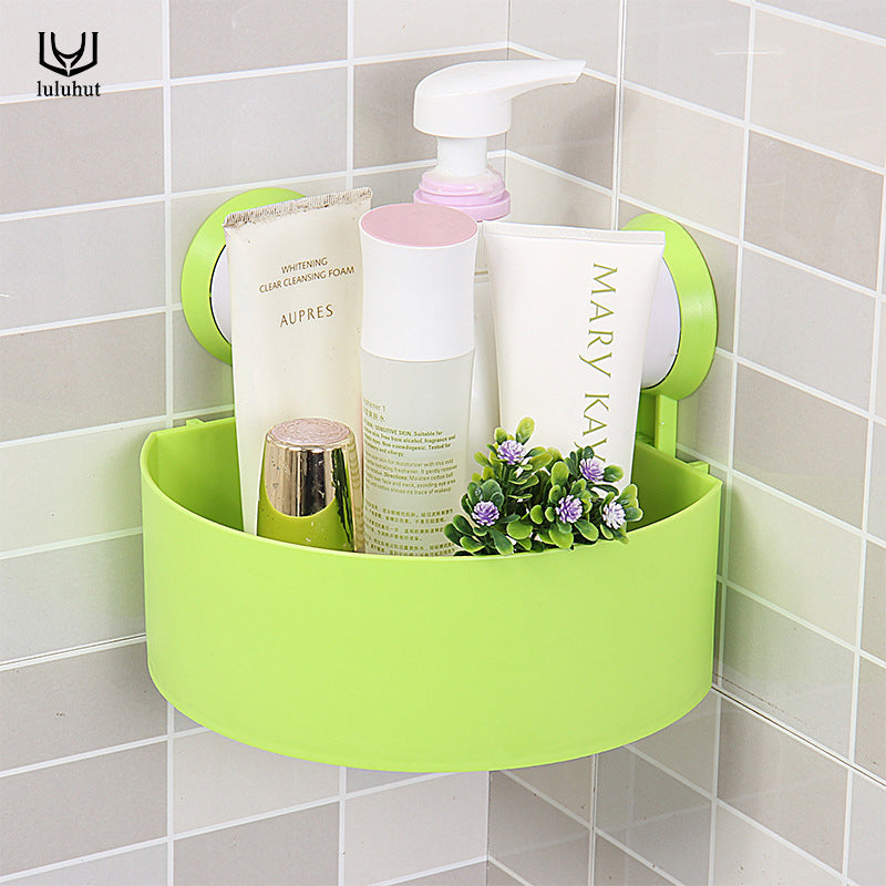 Suction Cup Wall Hanging Shower Basket Shelf