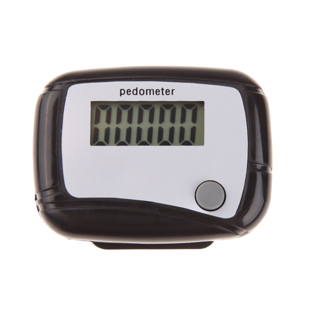Mini Portable Step Counter Run Walking Pedometer Distance Calorie Running Step Pedometer Walking Distance Counter High Quality
