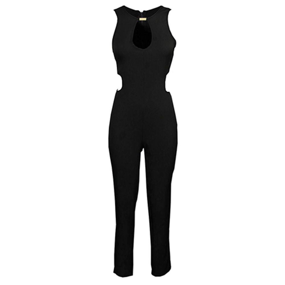 Fashion Style   Sleeveless O-neck Backless Bodycon Romper Trousers Clubwear Jumpsuit Women Long Summer Clothes